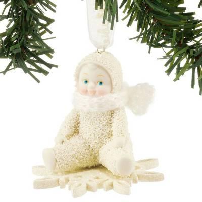 Drifting on a Snowflake Snowbabies Ornament
