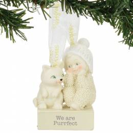 Snowbabies We are Purrfect Snowbabies Ornament