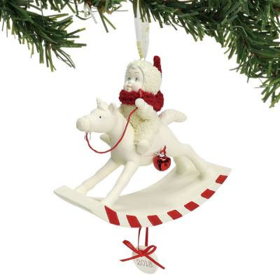 Peppermint Pony Ornament