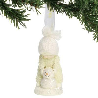 Making a Snowman Ornament