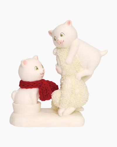 The Trouble with Cats Figurine