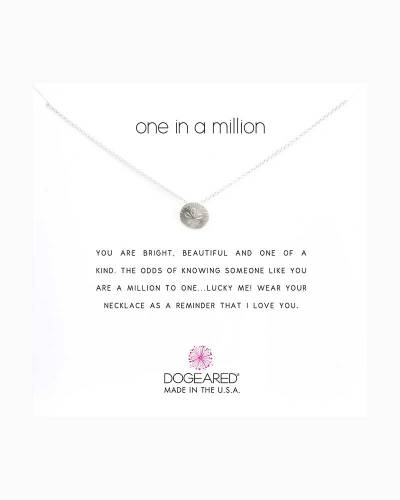 Sterling Silver One In A Million Sand Dollar Necklace
