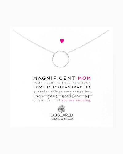 Sterling Silver Magnificent Mom Karma Necklace