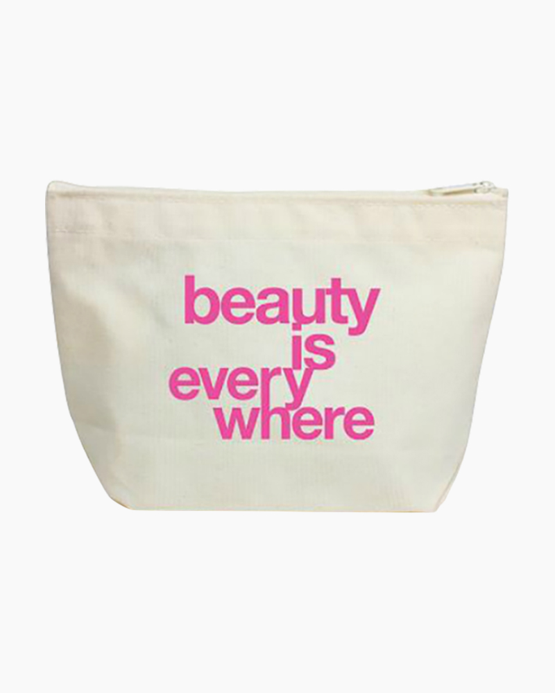 Dogeared Beauty Is Everywhere Lil' Zip Bag