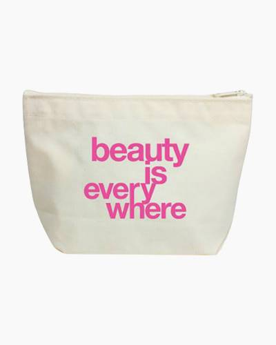 Beauty Is Everywhere Lil' Zip Bag