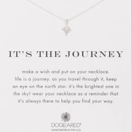 Dogeared The Journey Star Sterling Silver Necklace