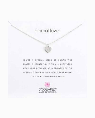 Animal Lover Sterling Silver Necklace