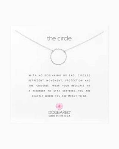 The Circle Sterling Silver Necklace