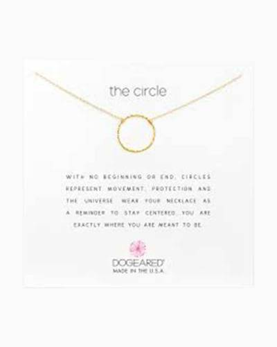 The Circle Gold Dipped Necklace