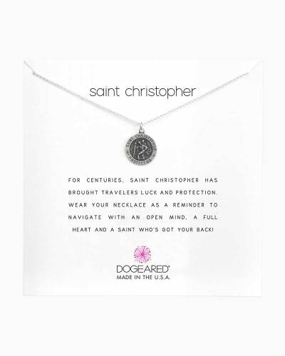 Saint Christopher Sterling Silver Necklace