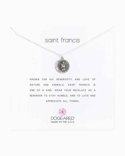 Saint Francis Sterling Silver Necklace