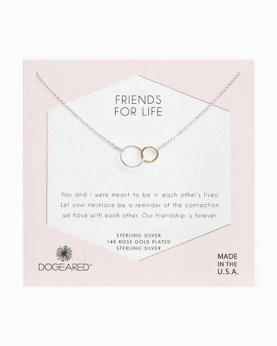 Friends for Life Necklace in Sterling Silver
