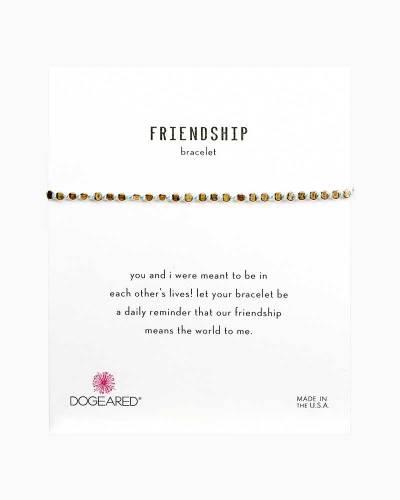 Light Blue Silk and Gold Friendship Bracelet