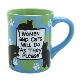 Our Name Is Mud Women and Cats Mug