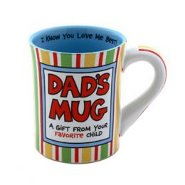 Our Name Is Mud Dad's Favorite Mug
