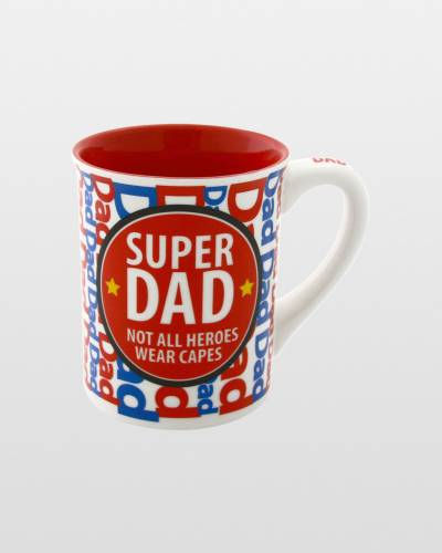Super Dad Not All Heroes Wear Capes Mug