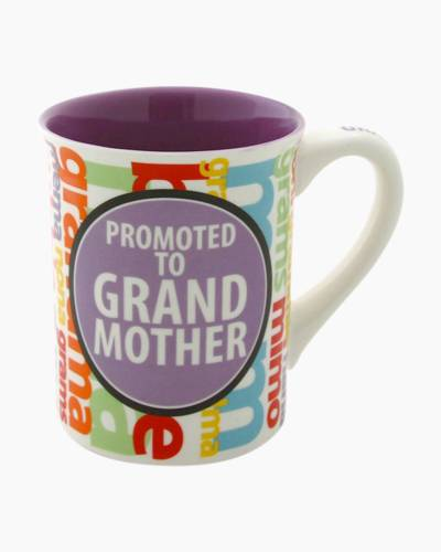 Promoted to Grandmother mug