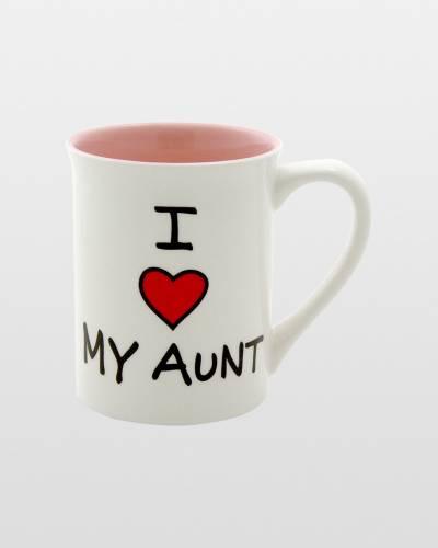 I Heart My Aunt Mug