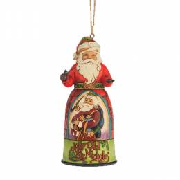 Jim Shore Santa Jolly St Nicholas Hanging Ornament