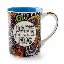Our Name Is Mud Cuppadoodle Dad's Favorite Mug