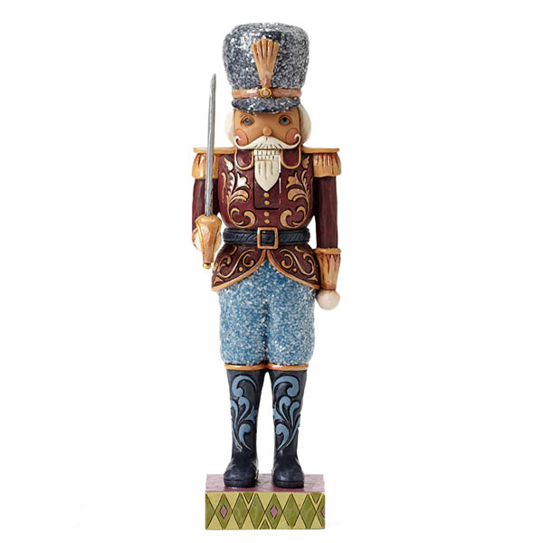 Jim Shore Merry Marching - Victorian Soldier Nutcracker Figurine