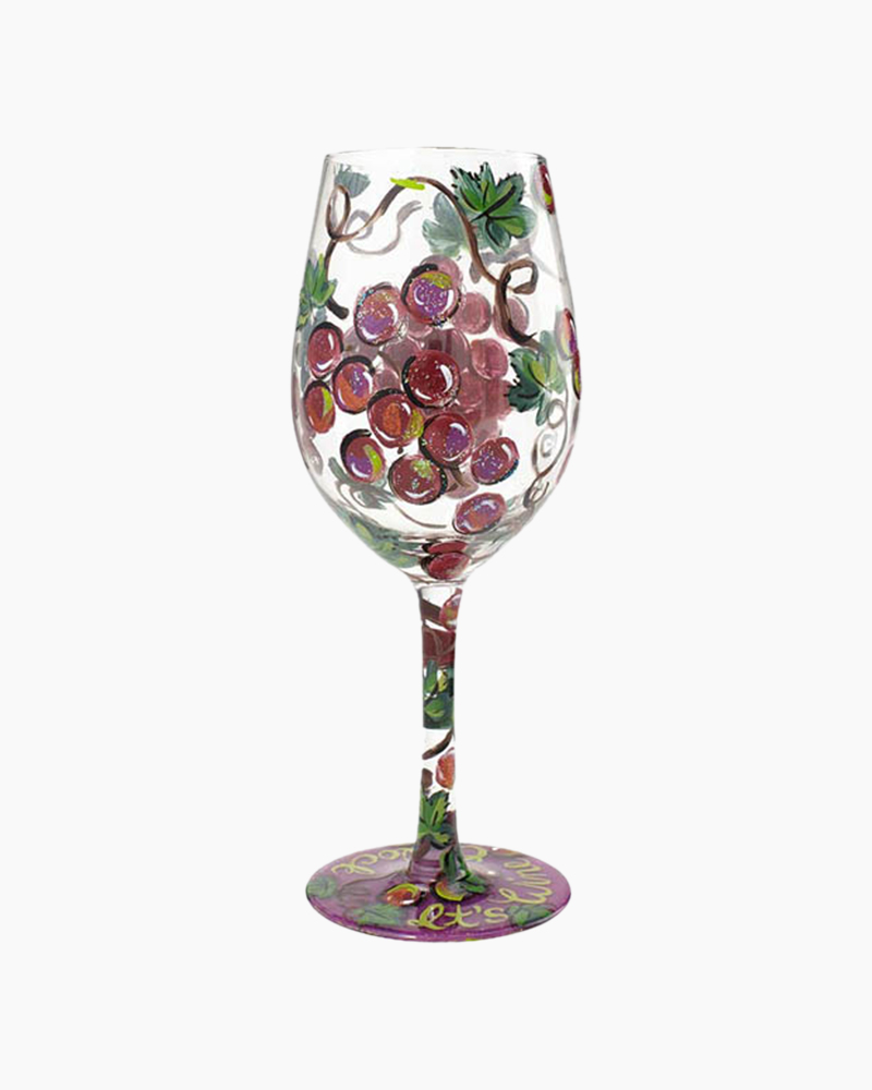 Lolita Wine O'Clock Wine Glass