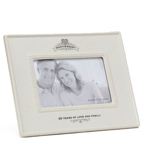 Enesco 25th Anniversary Ceramic Frame