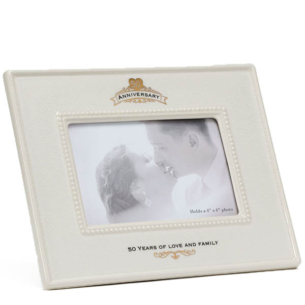 Enesco 50th Anniversary Ceramic Frame