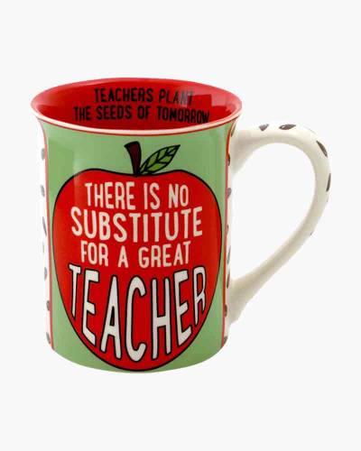 Great Teacher Apple Mug