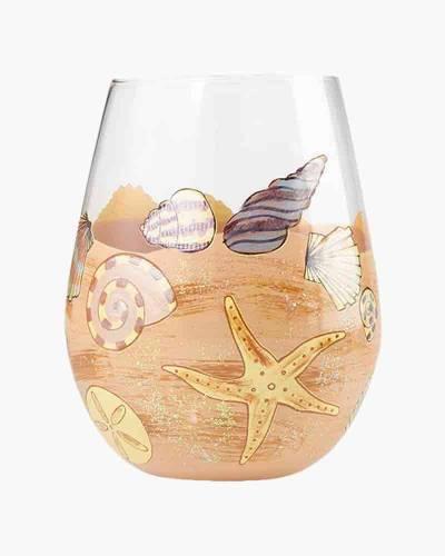 Seaside Stemless Wine Glass