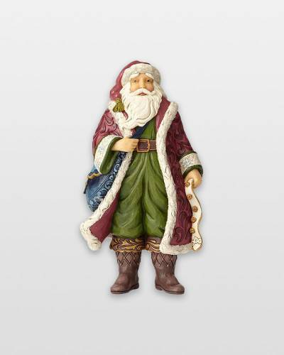 Victorian Santa Figurine