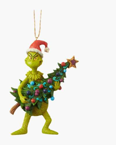 Grinch Holding Tree Ornament