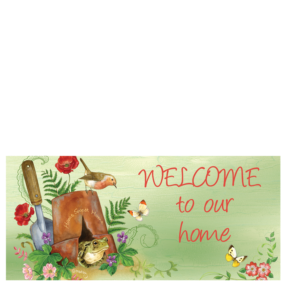 Evergreen Enterprises Welcome To Our Home Mat Insert