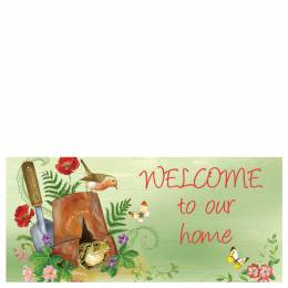 Sassafras Welcome To Our Home Mat Insert