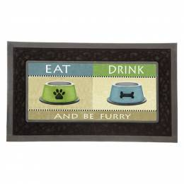 Sassafras Be Furry Welcome Mat Insert