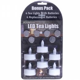 Feldstein & Associates Six Pack LED Tealights