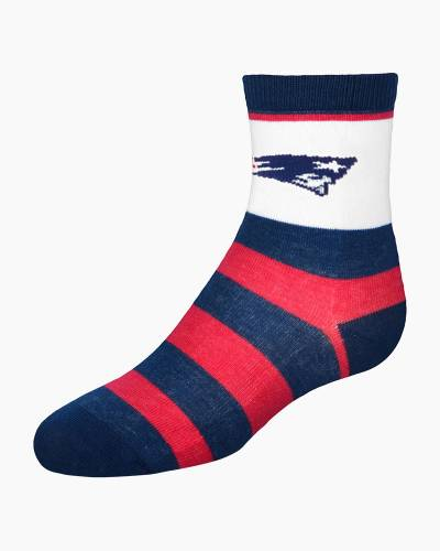 New Englant Patriots Infant Rugby Stripe Socks