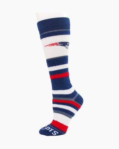 New England Patriots Soft Stripe Socks