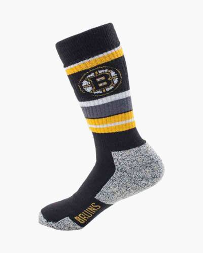 Boston Bruins Thick Striped Socks