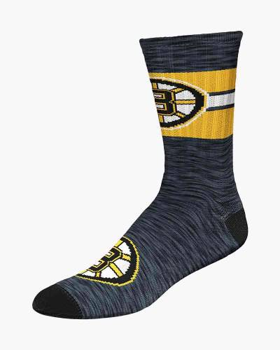 Men's Boston Bruins First String Crew Socks