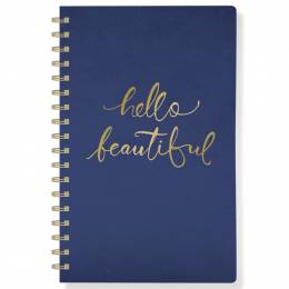Fringe Studio Hello Beautiful Faux Leather Journal
