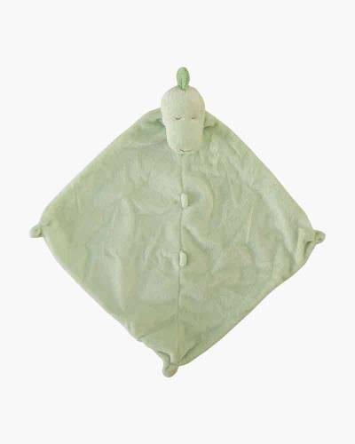 Green Dino Cuddle Blankie