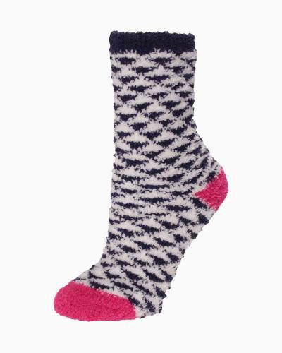 Exclusive Black and White Triangles Soft Butter Socks