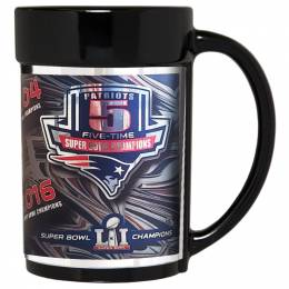 Great American Products New England Patriots Super Bowl LI Metallic Mug