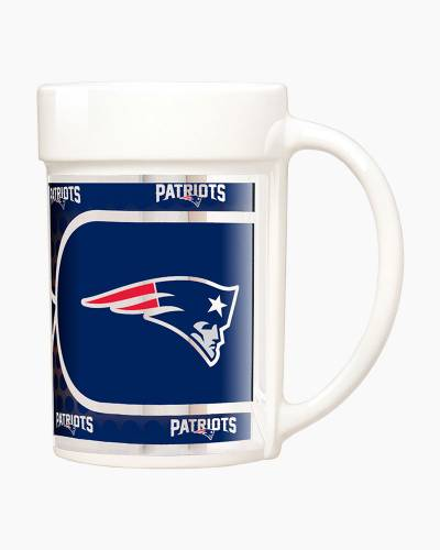 New England Patriots Metallic Graphics Coffee Mug