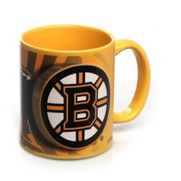 Hunter Boston Bruins Sublimated Color Mug