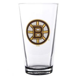 Hunter Boston Bruins Glass Pint Glass