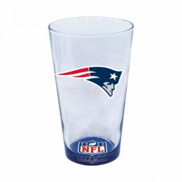 Hunter New England Patriots Decal Pint Glass