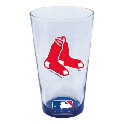Boston Red Sox Decal Pint Glass