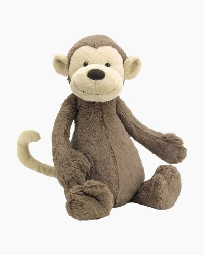 Bashful Monkey Plush (Medium)